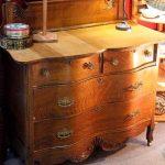 American Quarter Sewn Oak Dresser