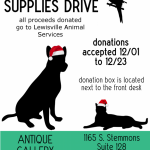 Pet Supplies Donation Drive for Lewisville Animal Services