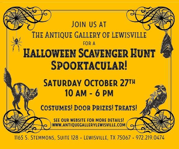 Halloween Scavenger Hunt Web