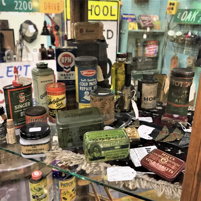 tiny vintage tins