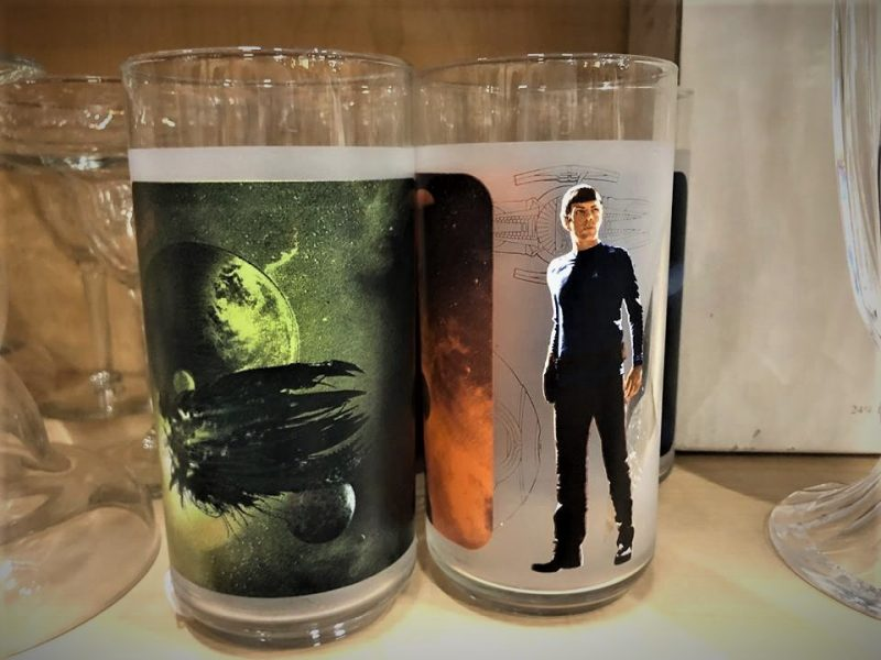 STAR TREK COLLECTORS GLASSES/TUMBLERS
